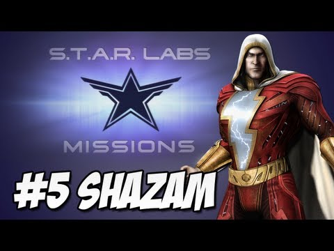 Star Labs - Injustice Gods Among Us - Injustice Gods Among Us: Star Labs #5 Shazam