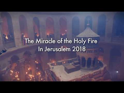 Miracle of the Holy Fire in Jerusalem 2018