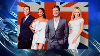 Alesha Dixon's daughter Azura is TOO CUTE as she poses on the set of BGT final