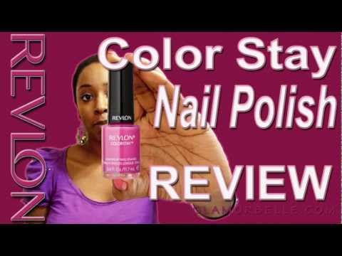 ★ No Chip Nail Polish - REVLON ColorStay Long Wear Video ★