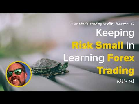 STR 156: Keeping Risk Small in Learning Forex Trading (audio only) Mp3