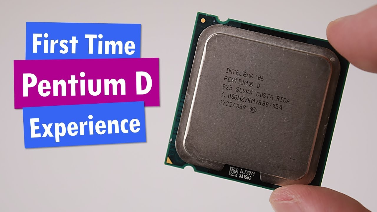 Pentium D - a series of dual-core processors: review, specifications, reviews 19