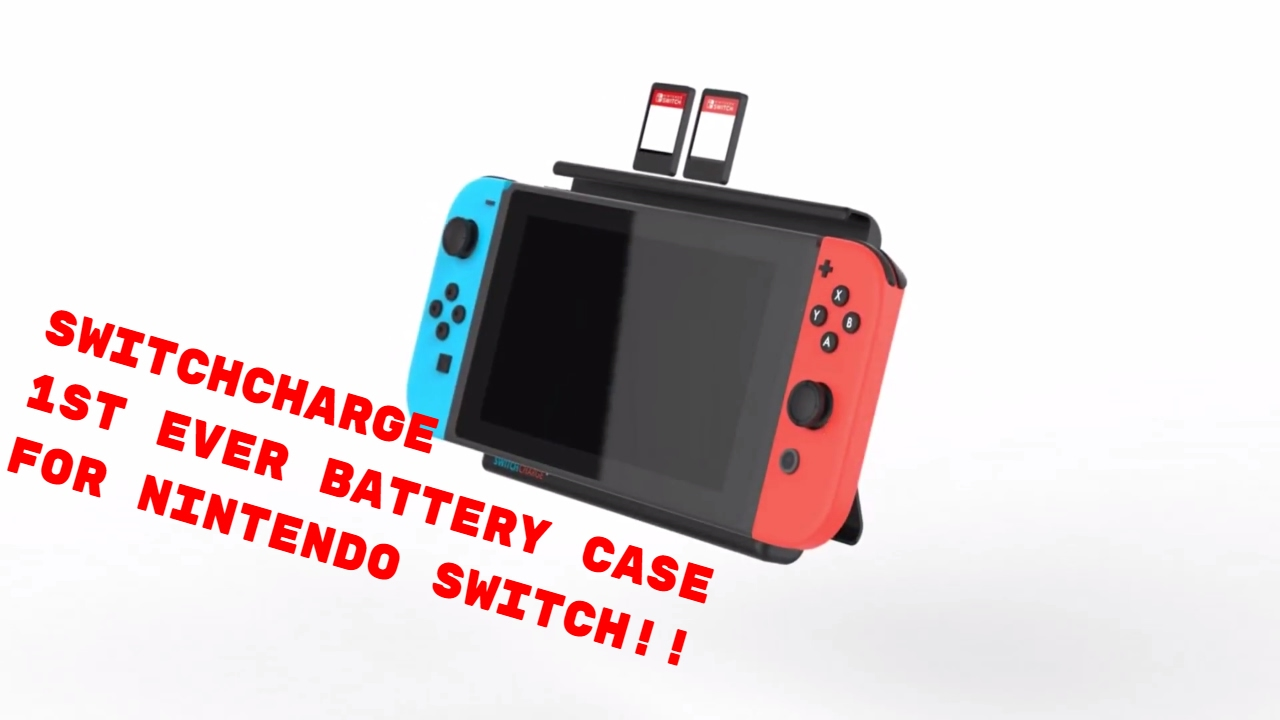 brand new 36937 5573a SwitchCharge IndieGoGo for Nintendo Switch - The first battery case for the  Nintendo Switch