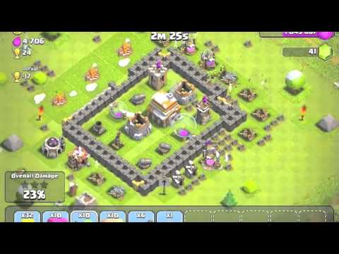 Let's Play Clash Of Clans Episode #1-Introduction And Upgrading Clan Castle
