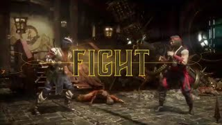 Mortal Kombat 11 Matoka Champion Nightwolf VS Chosen One Liu Kang 1 VS 1 Fight
