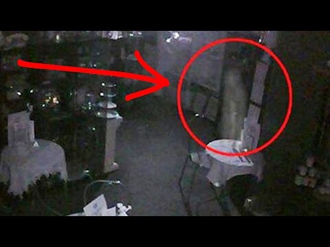 REAL GHOST CAUGHT ON CAMERA! *LIVE FOOTAGE*