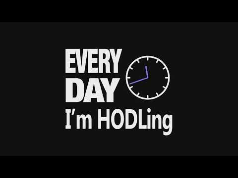 Everyday I'm HODLing - (Official Rap Song)