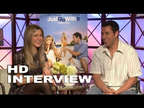 Just Go With It: Jennifer Aniston & Adam Sandler Exclusive Interview (02/11/2011)