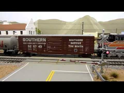 An American HO Model Railroad Tour