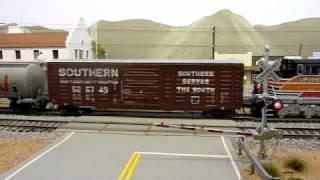 An American HO Model Railroad Tour