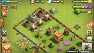Clash of clans 10#(eu passei o meu quartel para o nível 4 ae ae