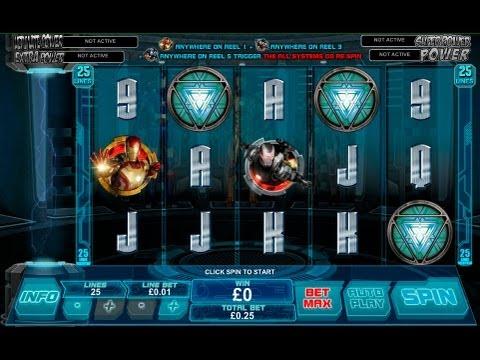 Iron Man 3 Slot Machine By Playtech - Casinos-Online-888.com