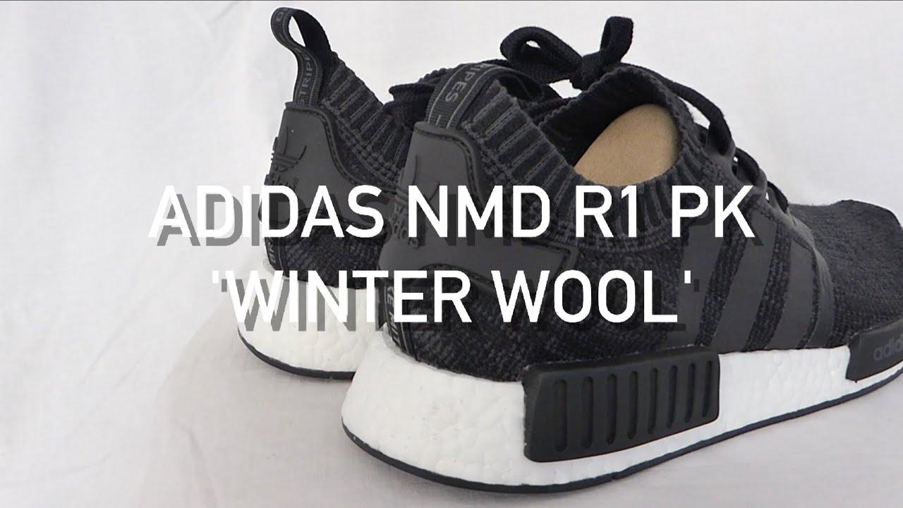 efdfd6e2fdb64 Adidas NMD R1 PK  Winter Wool  - First Look