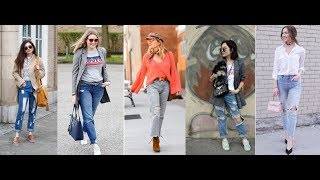 2018 Spring Jeans for Women in LOOKBOOK & Fashion Trends