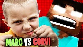 ¿NIÑO RATA SE VUELVE TROLL? | MARC VS CORVI | TROLLEOS EN MINECRAFT #169