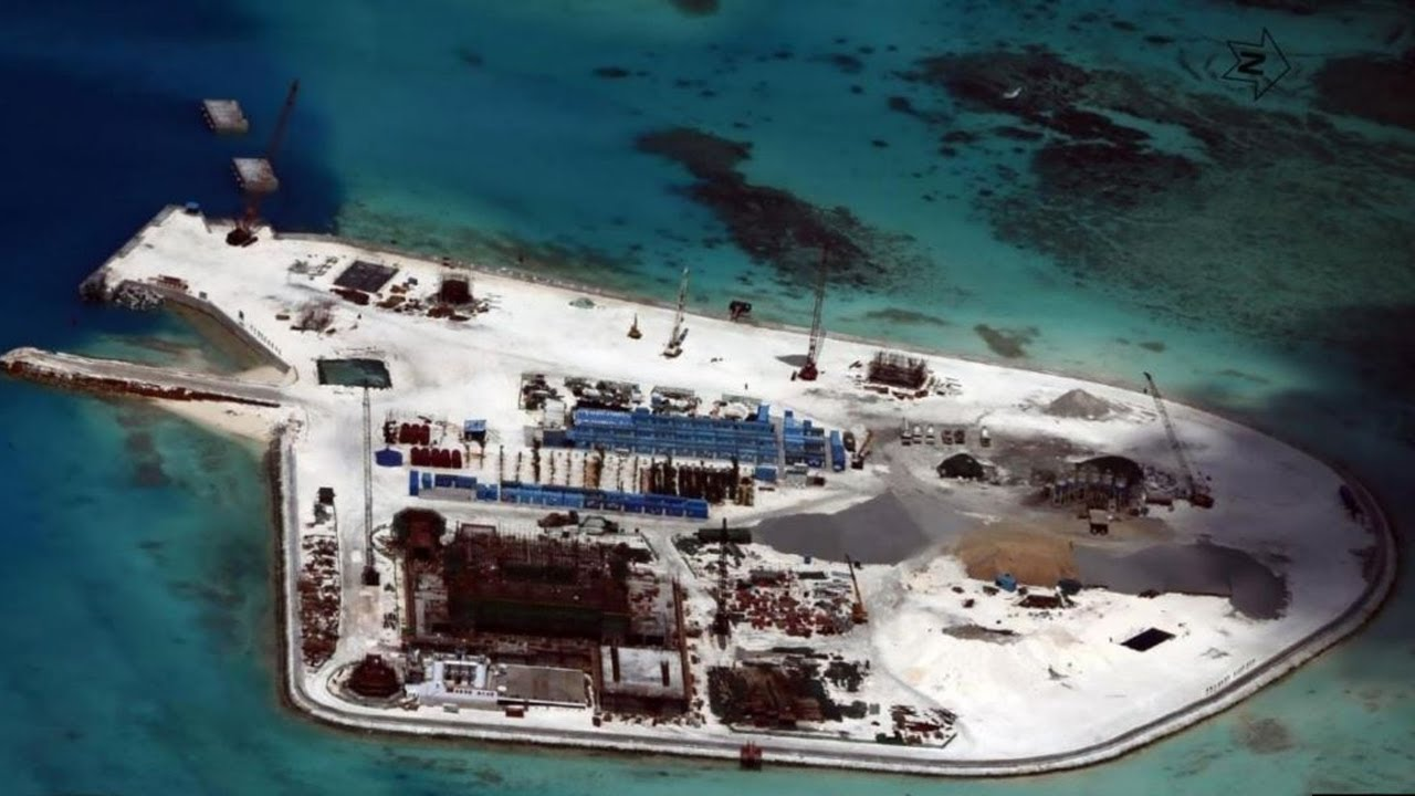 TIN TỨC BIỂN ĐÔNG MỚI NHẤT: TQ xây dựng căn cứ trên đảo GẠC MA
