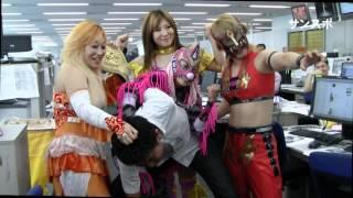 JWP女子プロレスラーのコマンド・ボリショイ、春山香代子、Leon、中島安里紗が、7月15日に大阪ミナミMoveOnアリーナで行われる大阪大会の...