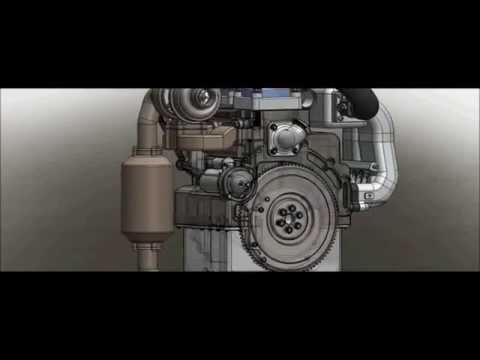 Turbo Charged 2 Stroke Engine Design ( Moteur 2 temps suralimenté - Concept )