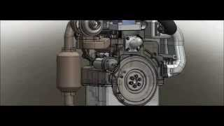 Turbo Charged 2 Stroke Engine Design ( Moteur 2 temps suralimenté - Concept )