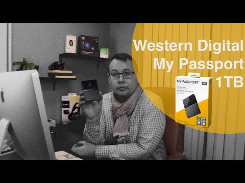 Western Digital My Passport 1 TB Review and Speed test 2020