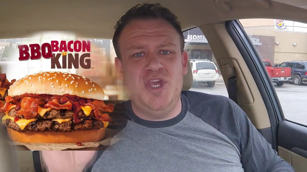 BURGER KING BBQ BACON Food Review