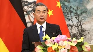 "Chinese FM calls for rejection of ""hearsay"" in China's Xinjiang"