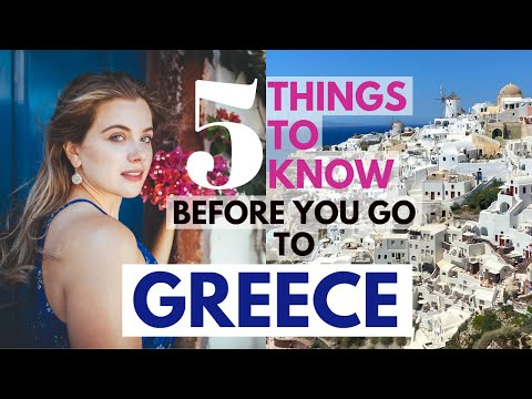 5 Things To Know BEFORE You Go To GREECE | Covid Rules, Tourist Scams + Learning Greek