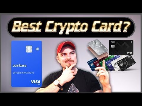 Best Crypto Debit Cards 2019 - Coinbase Debit Card, MCO, Crypto.com, TenX, BitPay