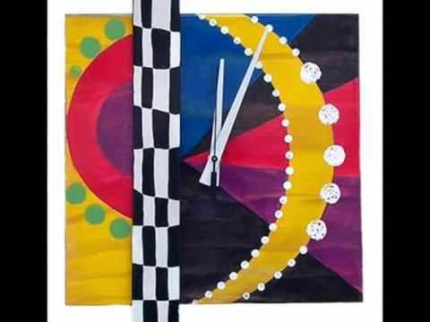 Showcase of imaginative modern wall clocks
