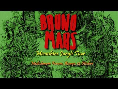 Bruno Mars - Moonshine Jungle Tour - Milano 26-10-2013