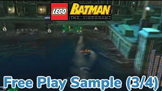 Let's Play: Lego Batman the Video-game Part 34 (Free Play Samples 3/4)