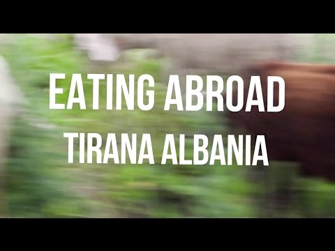 EATING ABROAD: TIRANA, ALBANIA