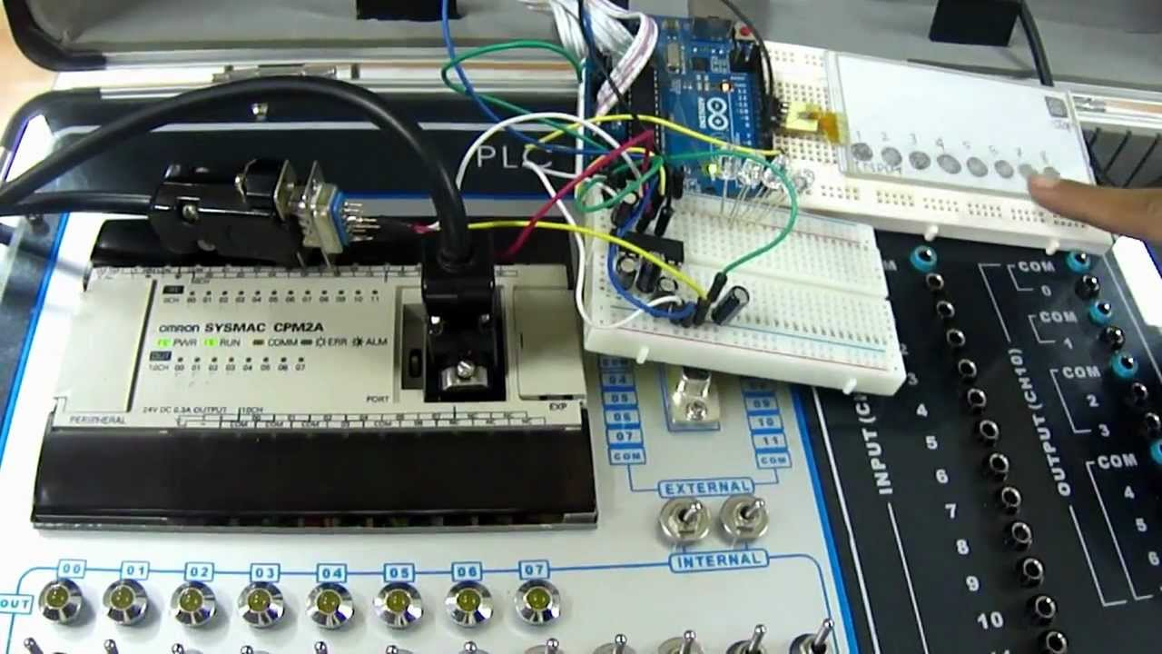 PLC Touchscreen base on Arduino by Nierha A  Hakim