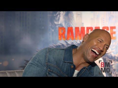 Dwayne Johnson Interview - Rampage