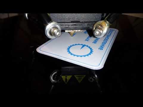 Как напечатать текст на 3d принтере.