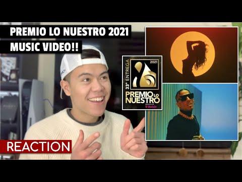 Selena Gomez, Rauw Alejandro - Baila Conmigo (Premio lo Nuestro 2021) REACTION