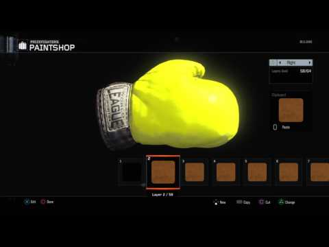 Gold Camo paint shop how to make Gold