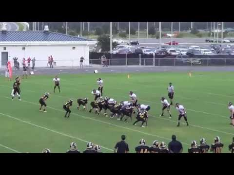 WALTER SIMMONS III Highlights Oakleaf Jr High (#2 Quarterback)