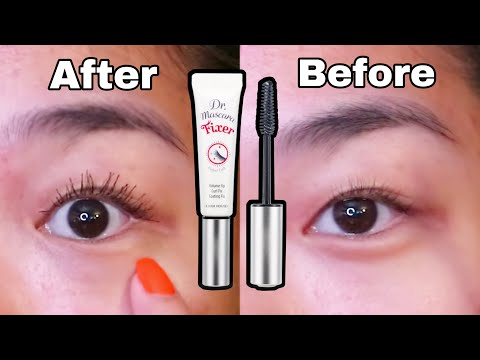 Etude house Dr.Mascara Fixer Review | Wear Test