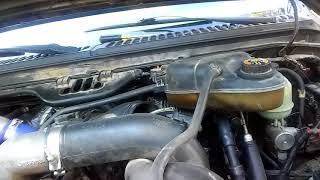 2006 Ford F250 6.0l EBP Sensor Removal
