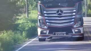 UniQ Concept Mercedes-Benz Actros Limited Edition
