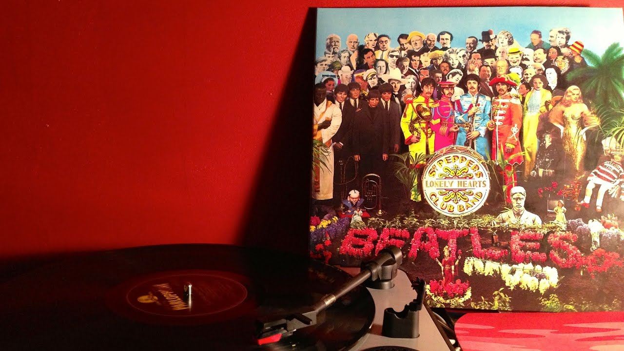 The Beatles Sgt Peppers Lonely Hearts Club Band 2012 Vinyl