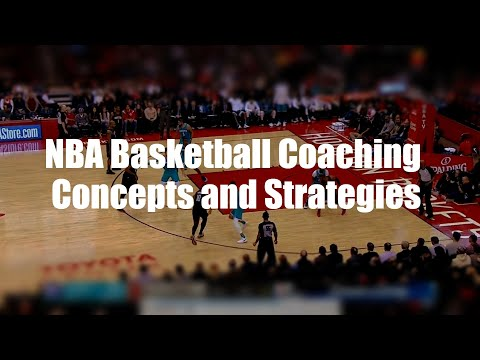 NBA Basketball Coaching Concepts and Strategies Part 1