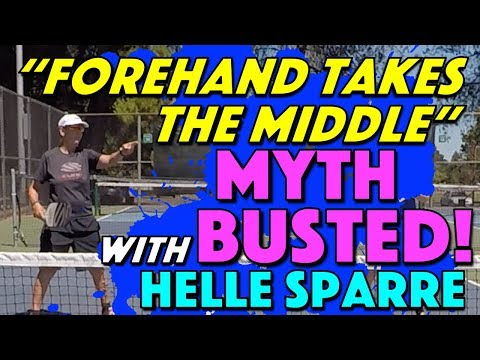 """Forehand Takes The Middle"" Pickleball Myth Busted!"