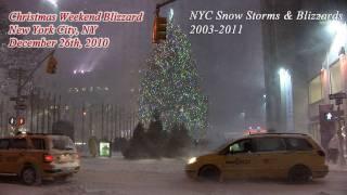New York City Snow Storm | Blizzard Video Highlights 2003-2011