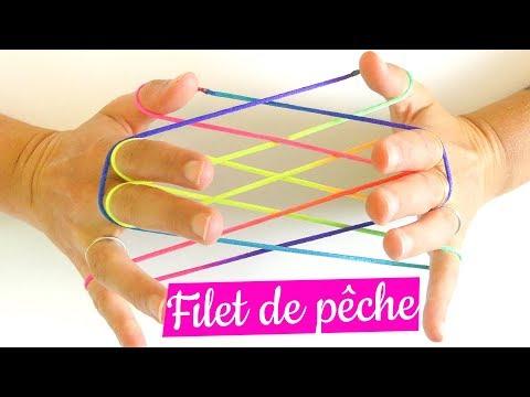 Filet De Pêche - Figure De Ficelle - Tuto Français