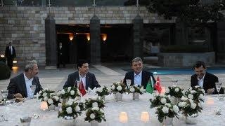 Türkmenistan Devlet Başkanı Berdimuhamedov Onuruna İftar Yemeği-09.08.2012