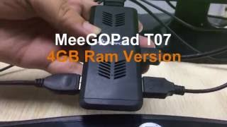 meegopad t07 4gb ram version intel atom z8300 windows 10 mini pc games review