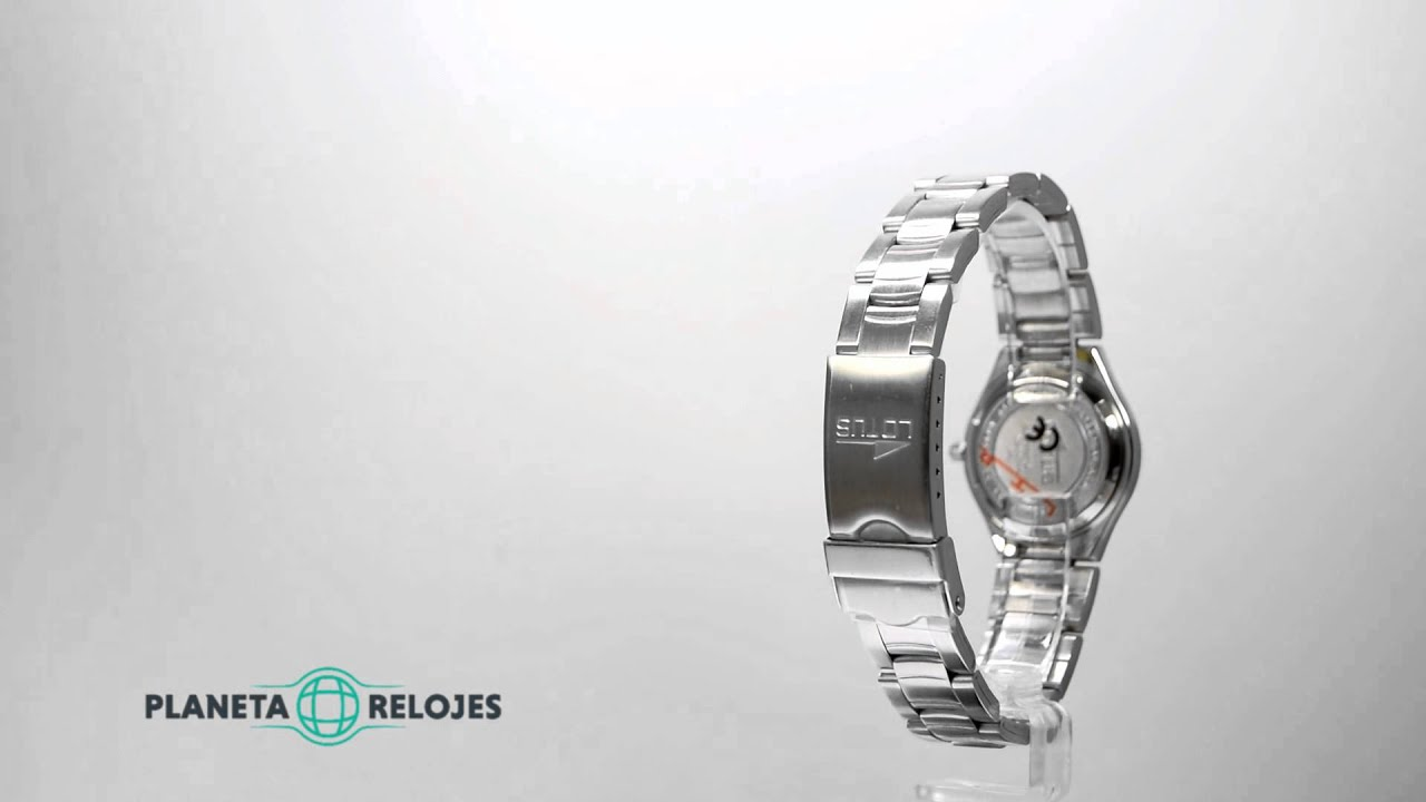 04295b2263f1 Reloj Lotus 15193-2 - YouTube