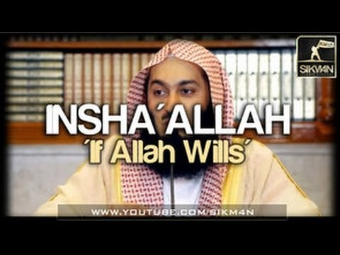 Insha Allah Story ᴴᴰ ┇ Amazing Reminder ┇ by Mufti Ismail Menk ┇ Dawah Team